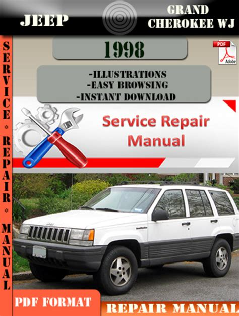 service repair manual free download 1998 jeep cherokee security system jeep grand cherokee wj 1998 digital service repair manual downloa