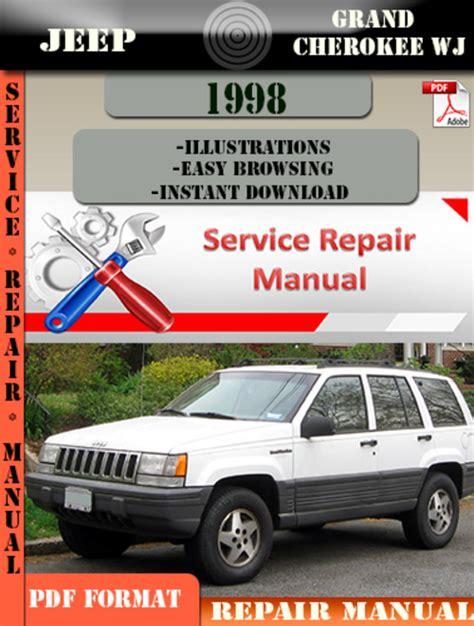 automotive repair manual 1998 jeep grand cherokee on board diagnostic system jeep grand cherokee wj 1998 digital service repair manual downloa