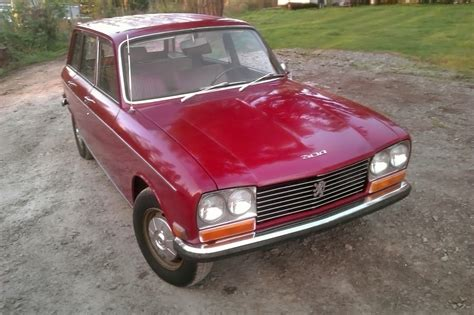 peugeot little little red wagon 1971 peugeot 304 wagon