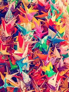 Folding 1000 Paper Cranes - 1000 paper cranes feng shui symbolism the tao of