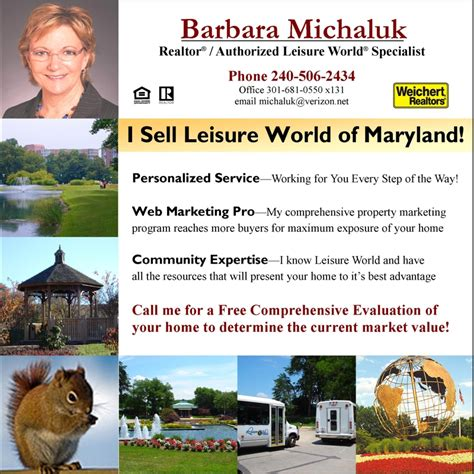 would you like to sell your home in leisure world of