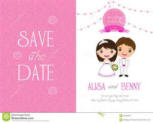 wedding picture templates wedding invitation template card stock vector