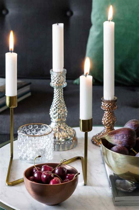 decorar velas para navidad ideas para la decoraci 243 n con velas de navidad