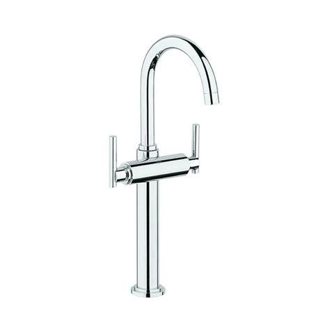 grohe single handle bathroom faucet shop grohe atrio chrome 2 handle single hole watersense