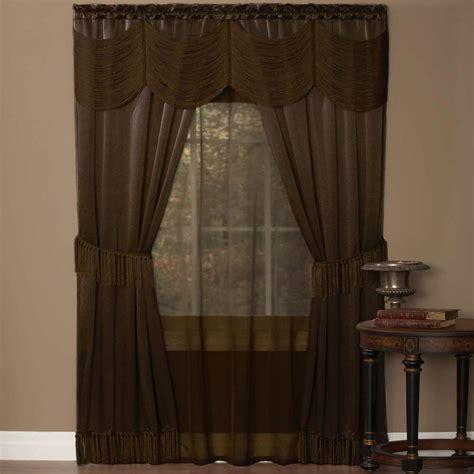 sheer curtain sets lichtenberg sheer multi eden printed textured sheer
