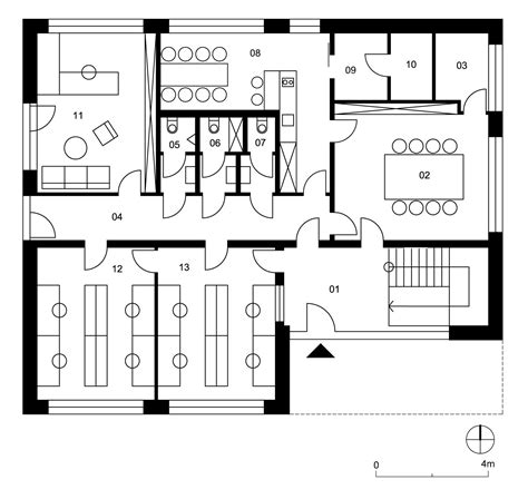 law office floor plan law firm office zvolen slovakia rules architects