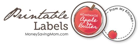 crockpot apple butter recipe plus free printable labels