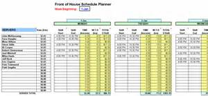 restaurant bookkeeping templates restaurant schedule planner writer restaurant resource