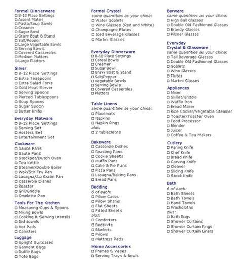 Wedding Checklist Start To Finish by Wedding Registries Wedding Registry List And No Way On