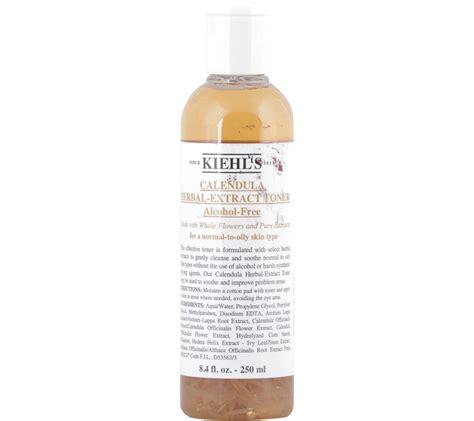 100 Ori Kiehls Calendula Herbal Extract Toner Free 250 Ml kiehl 180 s calendula herbal extract free toner skin care