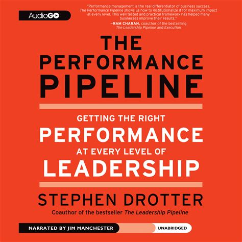 a company of leaders leading at every level books the performance pipeline audiobook by stephen