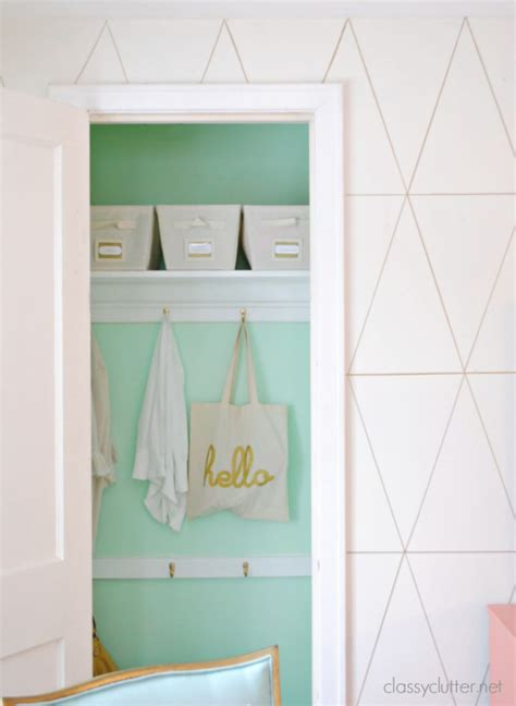 Shallow Closet Ideas by Diy Coat Closet Makeover Shallow Organizations And