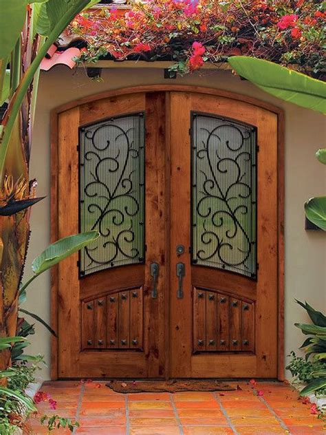 front doors mediterranean style for the home - Mediterranean Style Front Doors