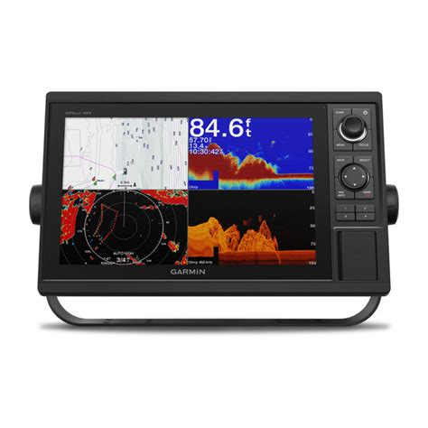 boat gps with weather garmin gpsmap 1242xsv 10 quot chartplotter sonar combo