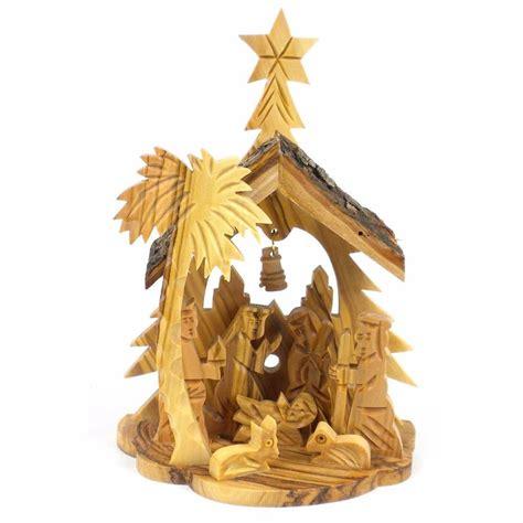 Handmade Nativity - nativity handmade olive wood bethlehem
