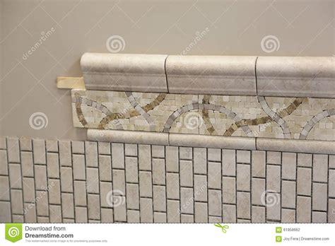 Bathroom Tile Installation New Bathroom Tile Installation Stock Photo Image 61958662