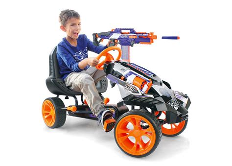 Pew Pew!: NERF Pedal Car For Blasting On The Go   Geekologie