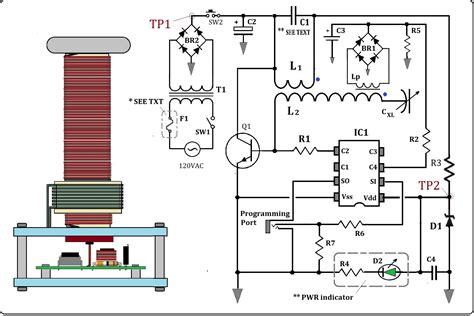 Tesla Coil Schematics Tesla Coil Schematic Wiring Diagram Tesla Wiring Diagram