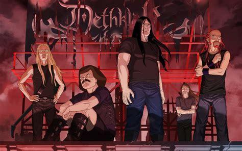 wallpaper cartoon band metalocalypse computer wallpapers desktop backgrounds