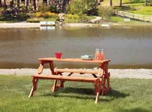 merry garden interchangeable picnic table and garden bench merry products partly assembled interchangeable picnic