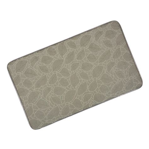 memory foam anti fatigue comfort home kitchen floor mat