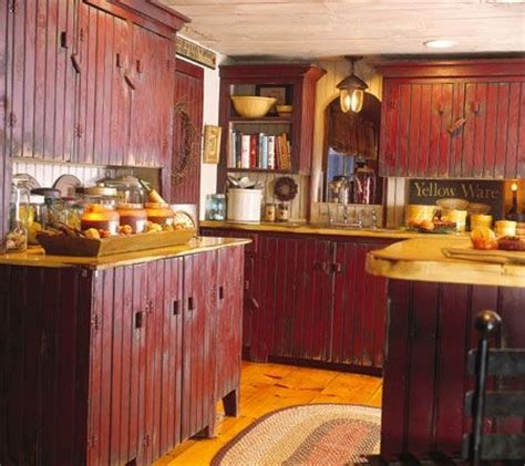 red country kitchen cabinets country kitchen showcase image 8
