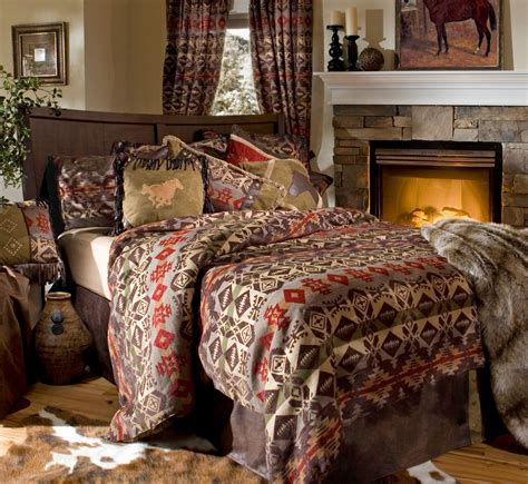 Lodge Bedding Sets In A Bag Montana Cabin Rustic Western Comforter Bedding Set Bed In A Bag Free Throw Ebay