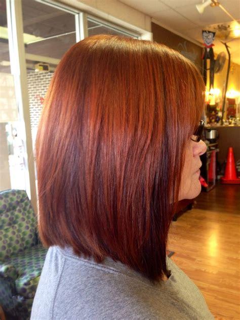 hair with copper lowlights copper hair w peekaboo lowlights hair makeup nails