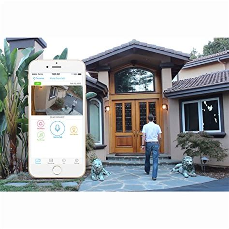 kuna smart home security outdoor light 840623102060