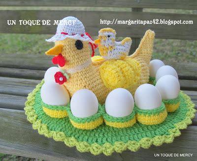 crochet huevos de gallina un toque de mercy gallina de crochet aqui muestro