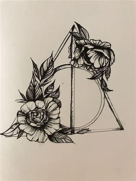 die besten  heiligtuemer des todes tattoo ideen auf