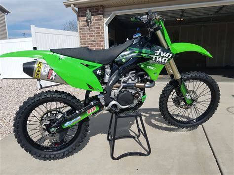 black motocross bike black framed kx450 done bike builds motocross forums