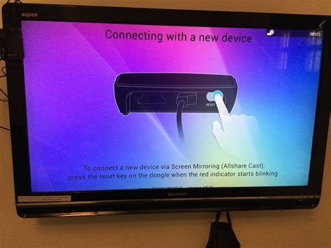 Tv Samsung Aquos allshare cast dongle by samsung and aquos hdtv by sharp