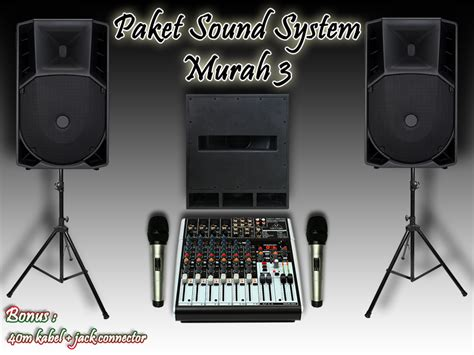 Sound Keyboard Murah paket sound system murah 3