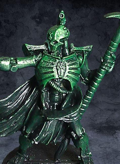 tutorial warhammer metallic green effect tutorial 40k necron 1 paint