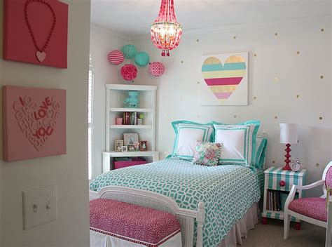 diy girls bedroom little girl s room reved to bright and bold tween room
