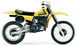 Suzuki Rm History Suzuki Rm250 And Rmx250 Model History