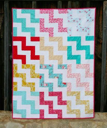 Chevron Stripe Quilt Pattern by Stashbuster S Quilt Ideas On 95 Pins