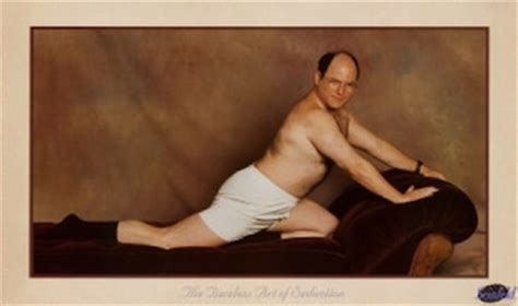 george costanza pose couch science of relationships