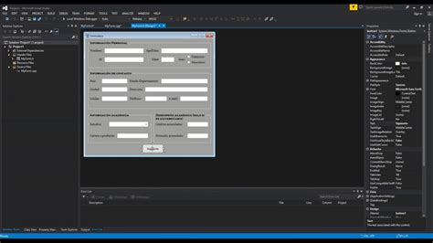 tutorial visual studio 2013 tutorial interfaz gr 225 fica visual studio 2013 y c parte