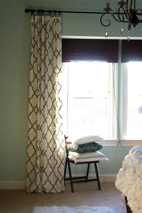 stenciled curtains be different act normal diy stenciled curtains