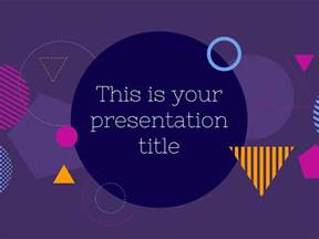 powerpoint slides template free free modern and bold presentation powerpoint template or