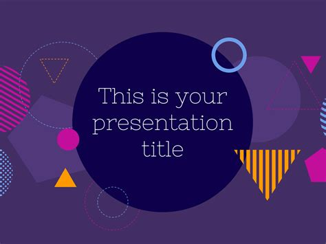 Free Modern And Bold Presentation Powerpoint Template Or Theme Power Point