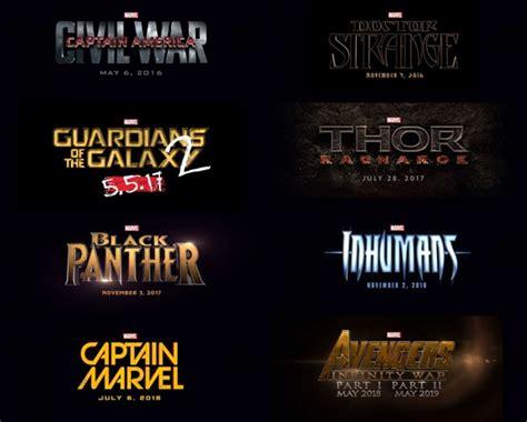 film marvel titoli la marvel annuncia i titoli di tutti i prossimi film