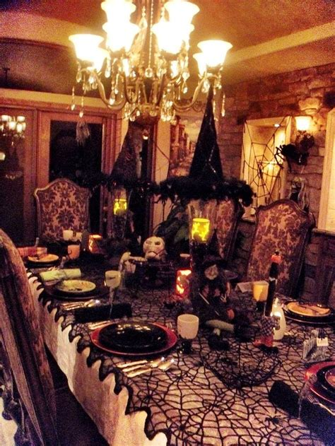dinner party table setting home decor pinterest 2015 halloween decoration ideas design trends blog