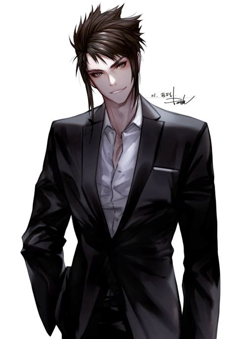 1000 Ideas About Hottest Anime Characters On Pinterest Anime Boy In Suit Drawing Free