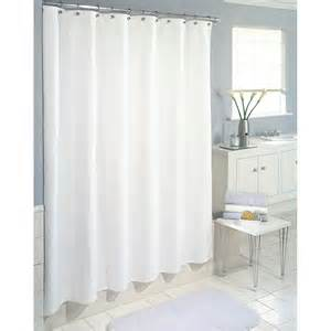 inter design shower stall curtain carlton white fabric