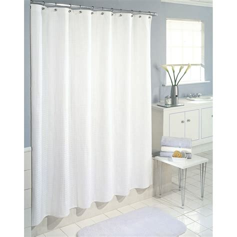 white bathroom curtains inter design shower stall curtain carlton white fabric