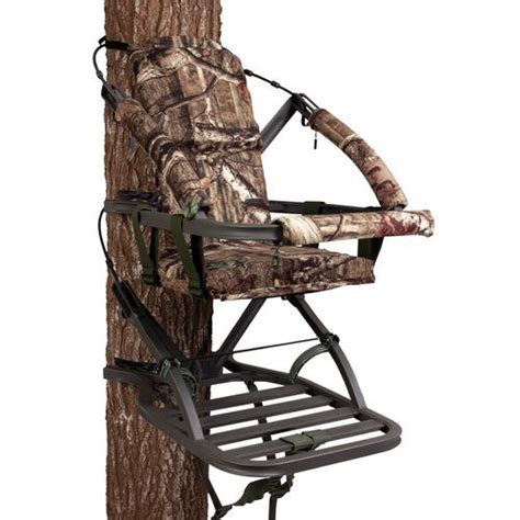 miniature tree stand summit mini viper sd closed front climbing treestand academy