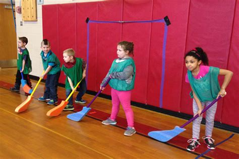 floor hockey lesson plan floor hockey unit